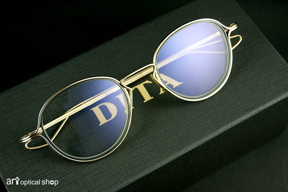 DITA - HALIOD-DTX100-WHITE-GOLD-BLACK-IRON-LENS-RIMS