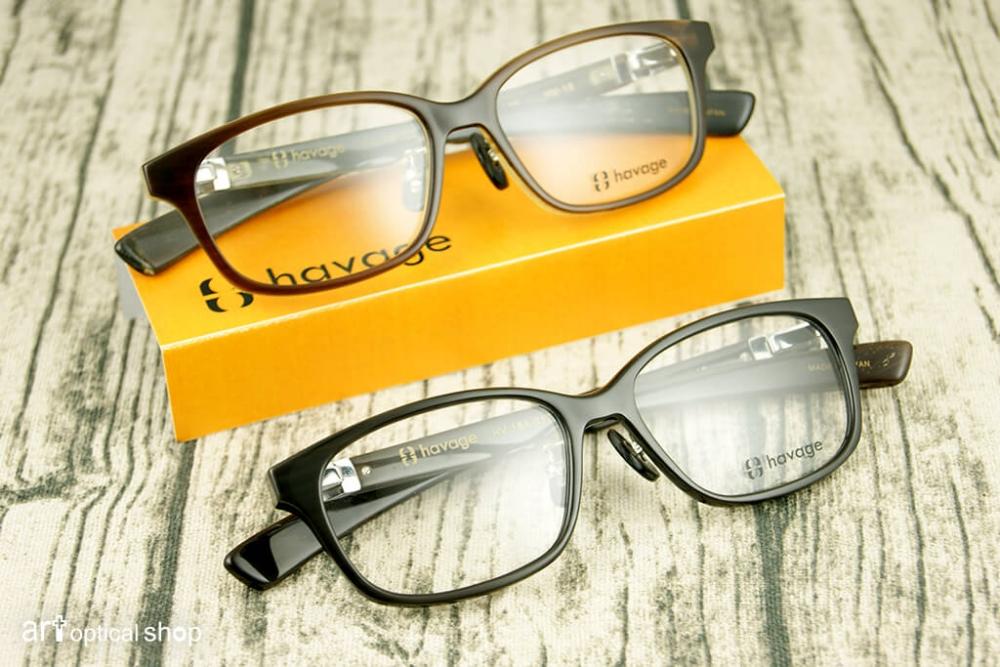 HAVAGE - HV-18 - 日本精緻手工牛角眼鏡
