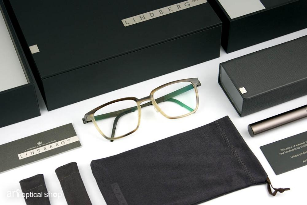 LINDBERG - 經典牛角眼鏡 - 限定漸層色款