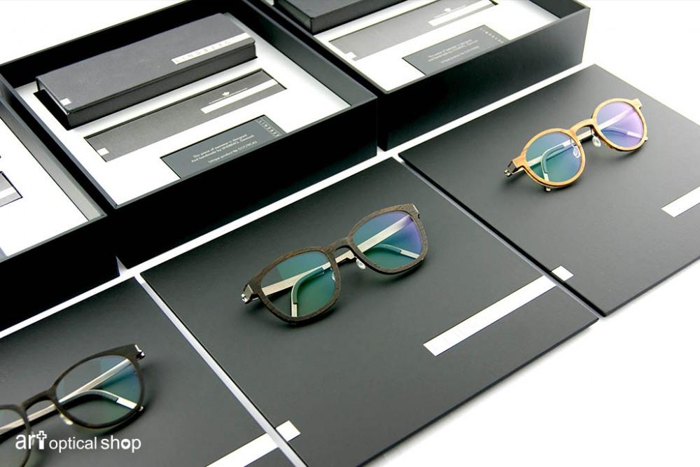 LINDBERG - træ + buffalo 水牛角木紋眼鏡