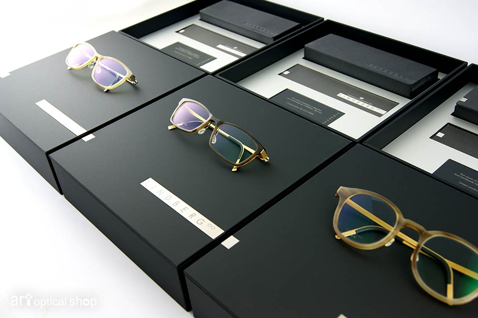 LINDBERG - 經典牛角眼鏡