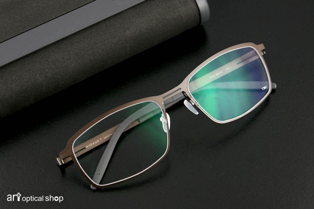 MARKUS T - T3-361 鐵灰色純鈦金眼鏡