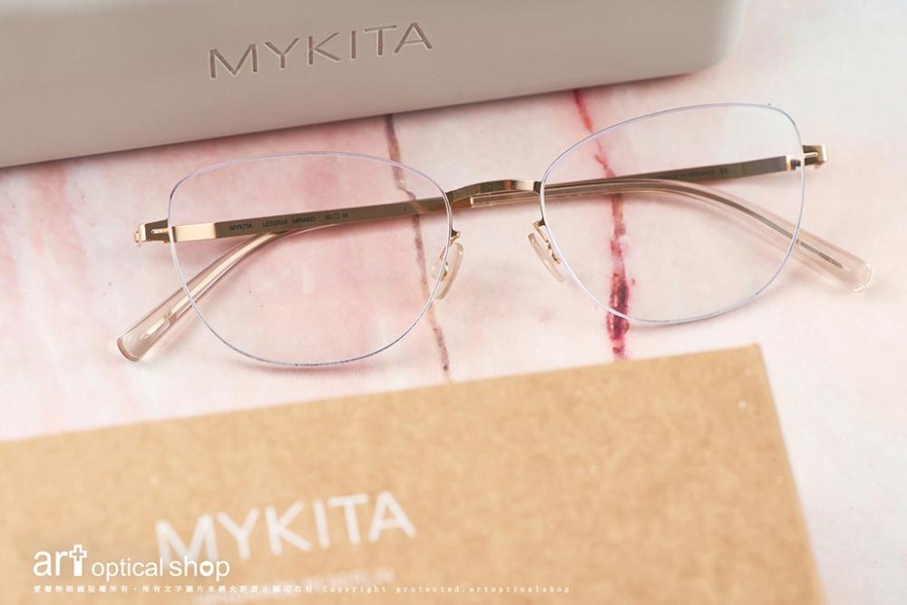 MYKITA-LESSRIM- MINAKO- 極細金色超輕量蝴蝶造型鏡框