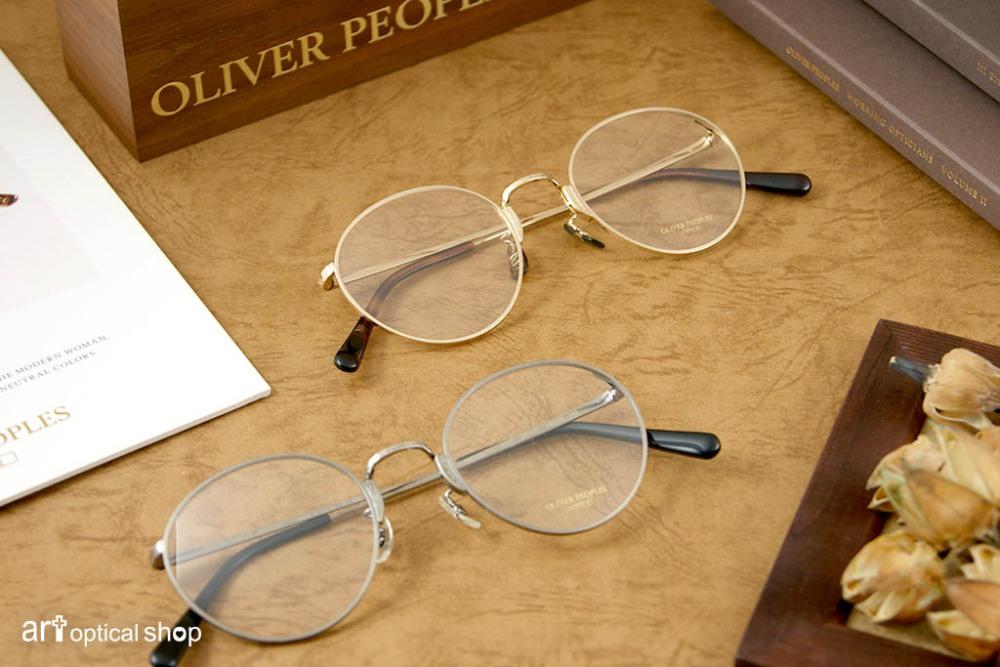 OLIVER PEOPLES - OP-10T 經典細圓框復古眼鏡