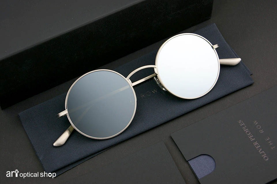 OLIVER PEOPLES X THE-ROW - AFTER MIDNIGHT 水銀色鏡面款