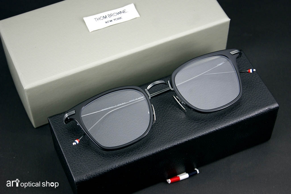 1cf5261cf42 THOM BROWNE - TB-905 Black Iron - 鐵黑色復古方框