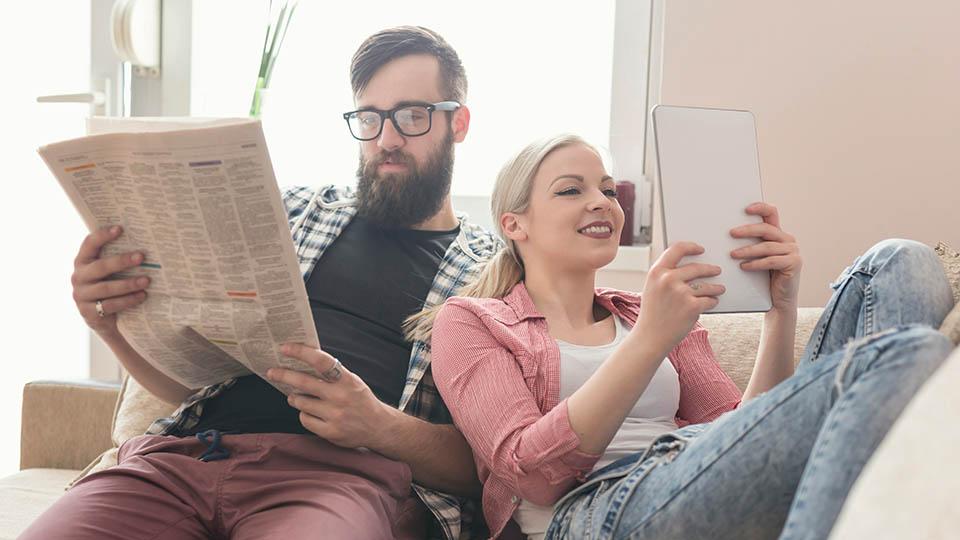 蔡司 3D 多焦點鏡片世界首創的數位視覺技術特別針對以上兩種閱讀距離優化