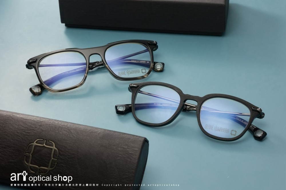 BLAKE KUWAHARA BLACK /MIDNIGHT 黑色粗框亮面/霧面光學眼鏡