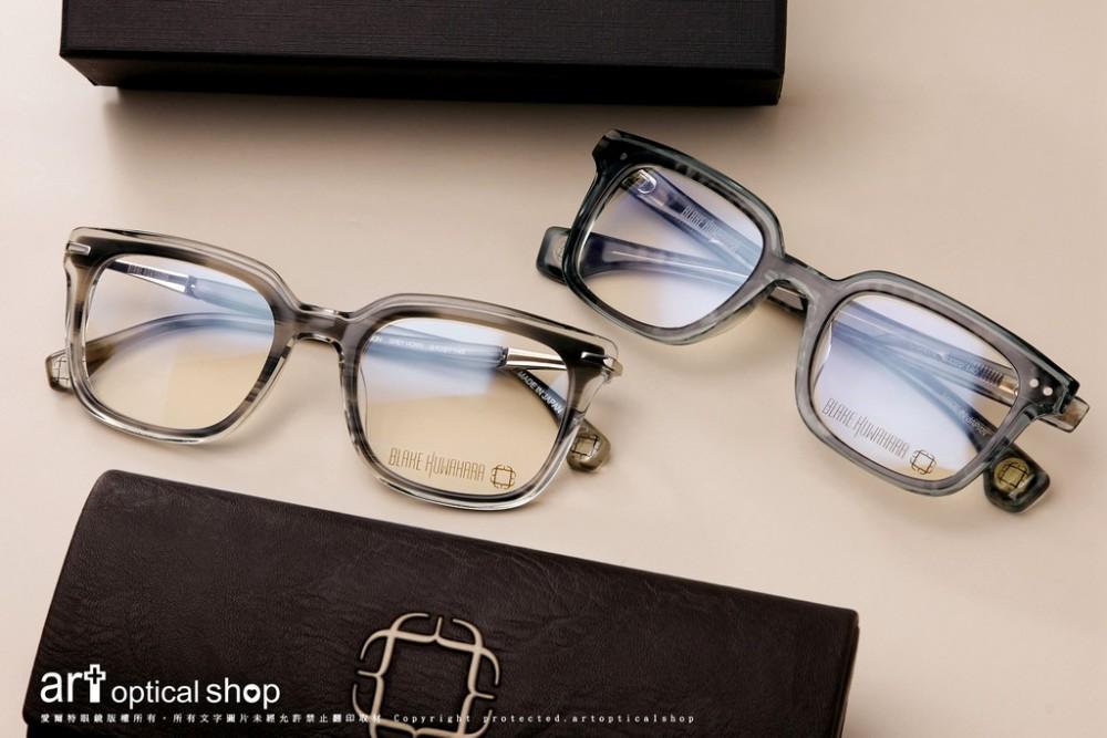BLAKE KUWAHARA HOBSON/FULLER 經典框中框造型眼鏡