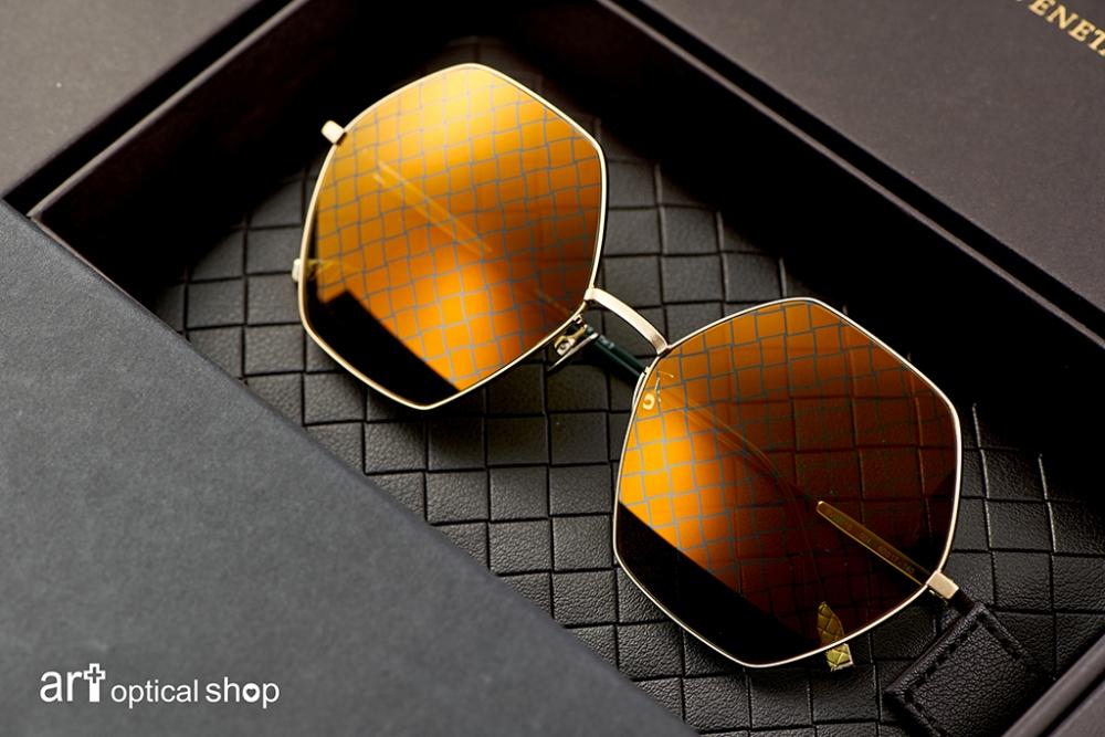 BOTTEGA VENETA-BV-0201S-004-六角形編織紋太陽眼鏡