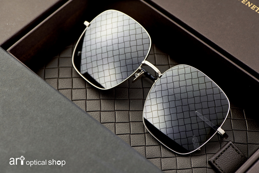 BOTTEGA VENETA-BV-0202S-001-方形編織紋太陽眼鏡