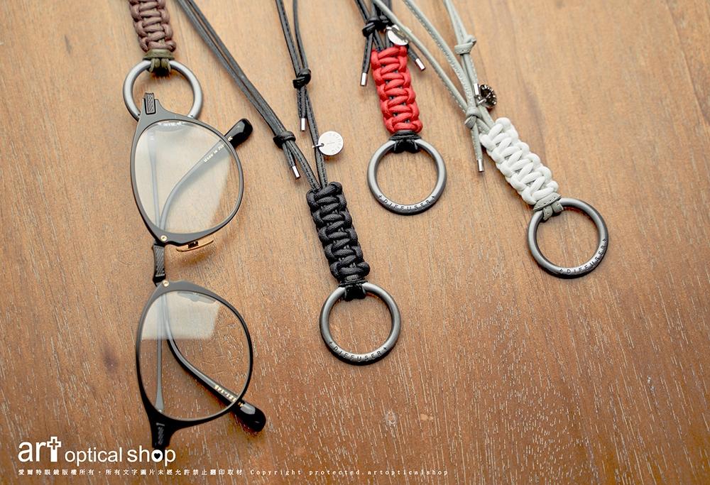 DIFFUSER TOKYO-SG1016-真皮皮革古銀眼鏡帶