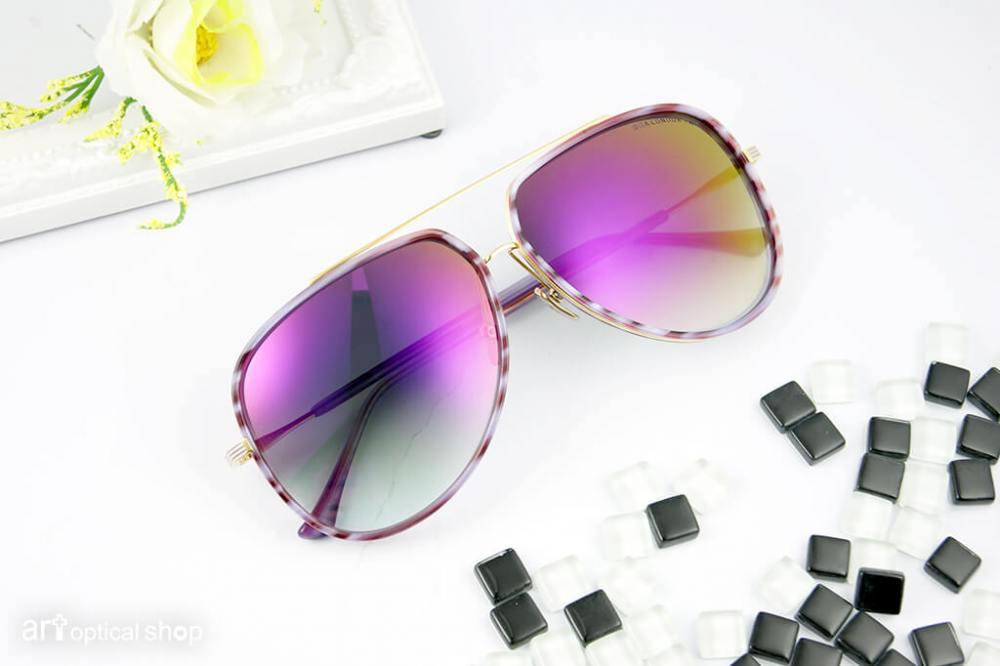 DITA - CONDOR-TWO - 大鏡面太陽眼鏡 - 紫蘿蘭漸層