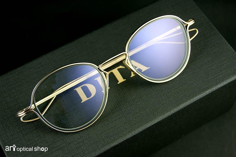 DITA - HALIOD-DTX100-WHITE-GOLD-BLACK-IRON-LENS-RIMS