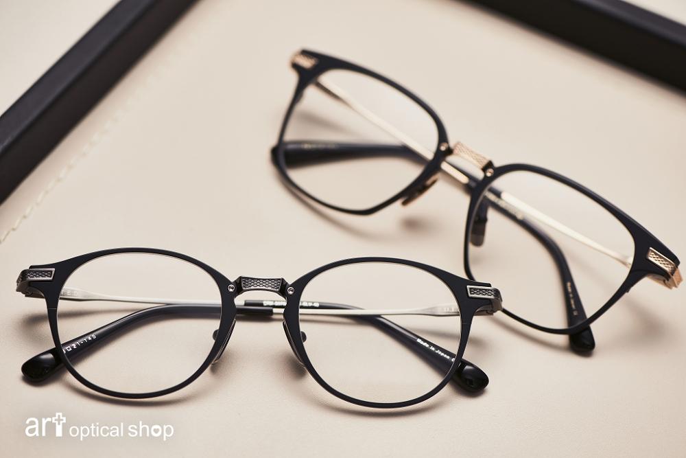 DITA-United Matte Black DRX-2078/2068-純鈦方框復古眼鏡