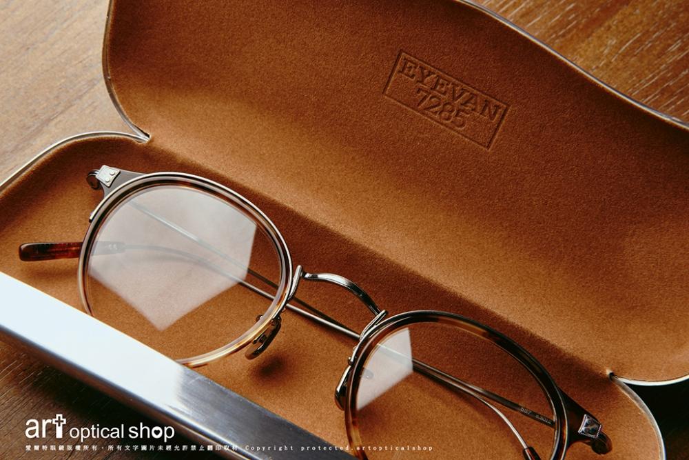 EYEVAN 7285 - 557 C3012 - 經典玳瑁金屬圓框