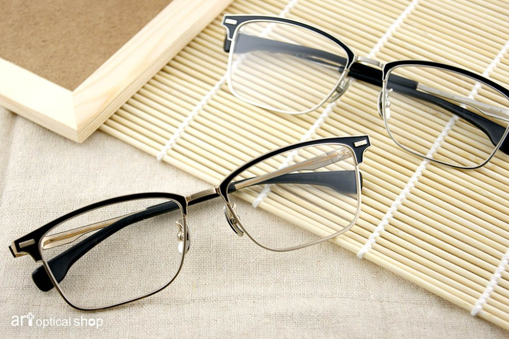 FOUR NINES - S-915T 鈦金屬半框眼鏡