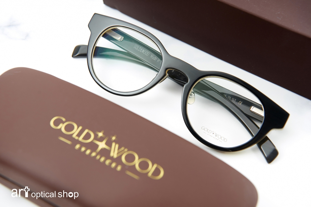 GOLD & WOOD SIRIUS 22-經典牛角眼鏡