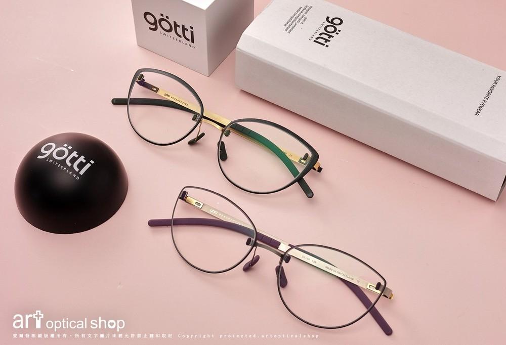 Götti Switzerland PERSPECTIVE BL06 貓眼鏡框