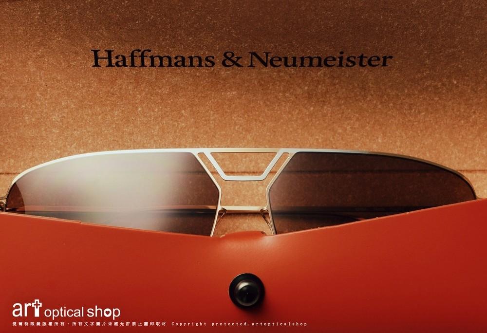 Haffmans & Neumeister North Noah 雙槓飛行員光學及太陽眼鏡款式