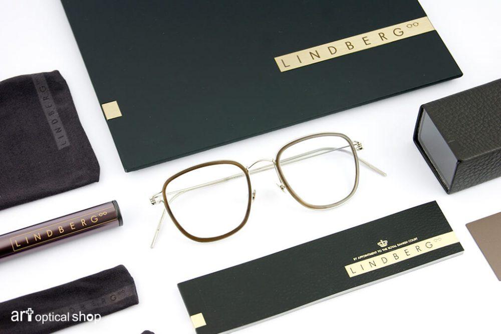 LINDBERG PRECIOUS - 貴金屬系列 手工18CT白金 鏡架 - RIM