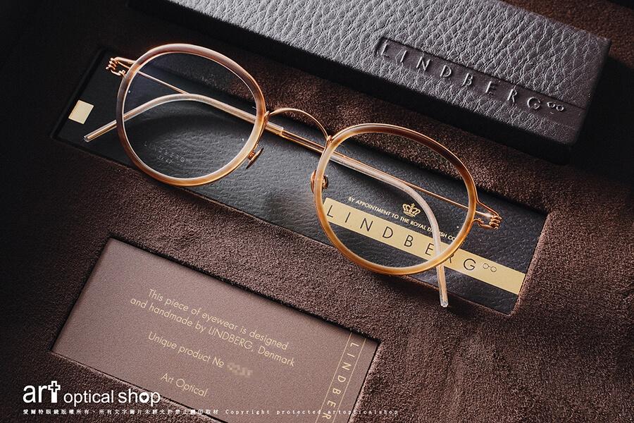 LINDBERG PRECIOUS - 2020 貴金屬牛角眼鏡