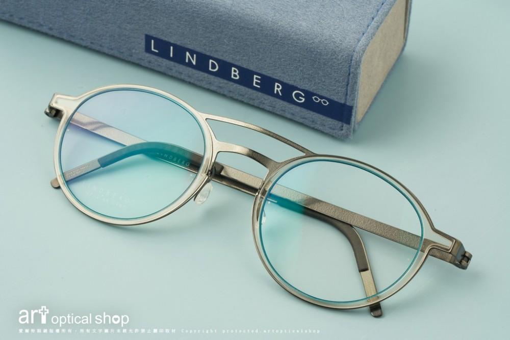 LINDBERG Strip Titanium 9739 超輕量內圈板料設計鏡框