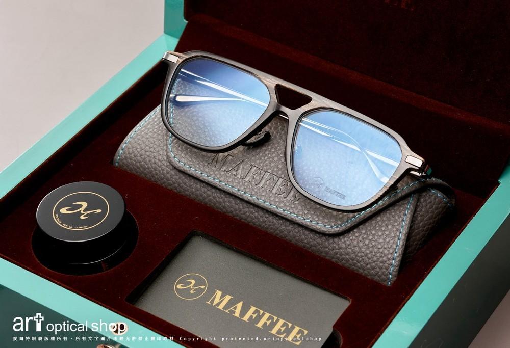 MAFFEE H662388 雙槓牛角板材鏡框