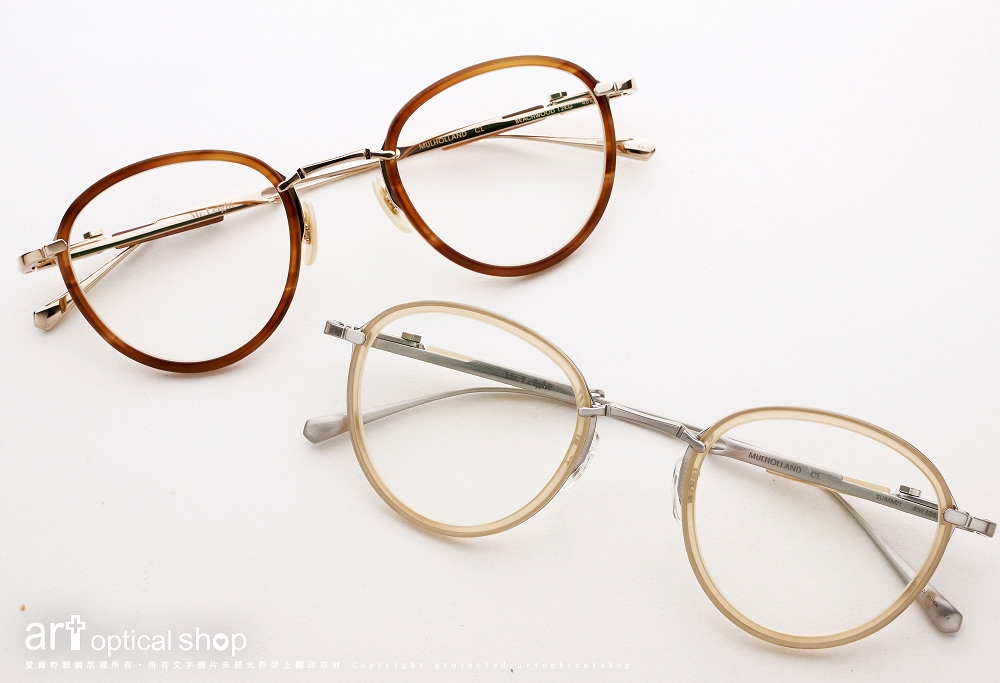 Mr. Leight - CL Series - Mulholland CL - 可調式鈦金屬鏡框