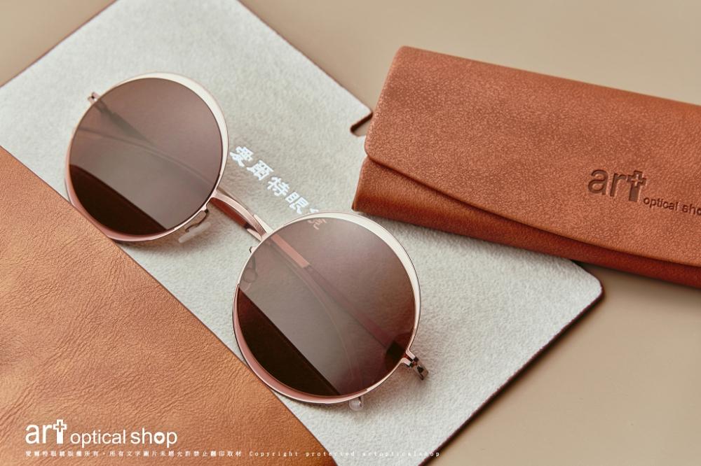 MYKITA - DECADES SUN - IRIS 大鏡面圓框太陽眼鏡 - col.405 浪漫紫銅色