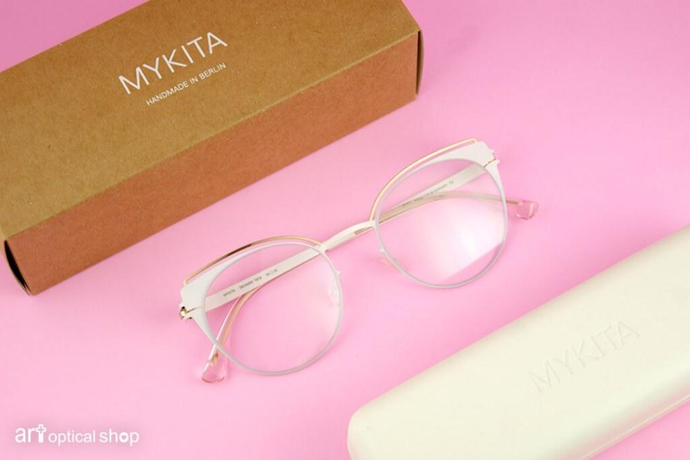 MYKITA - DECADES TATA - 狐狸造型鏡框 極光粉色