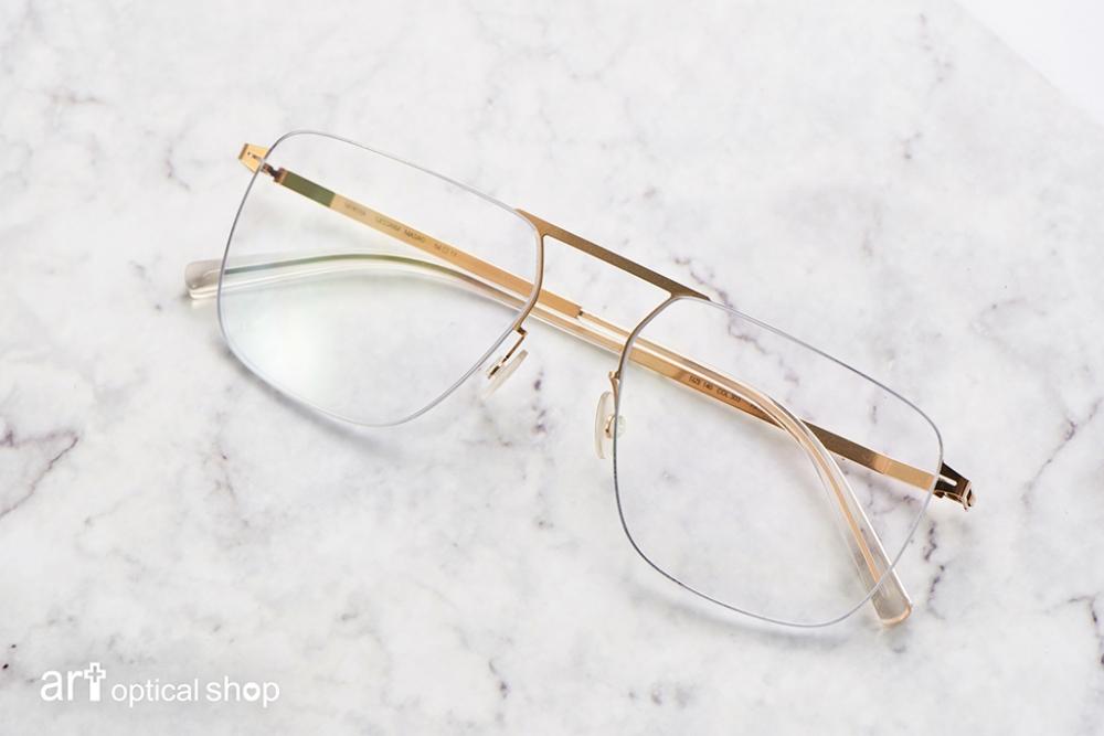 MYKITA-LESSRIM-MASAO-金色極細邊方框眼鏡