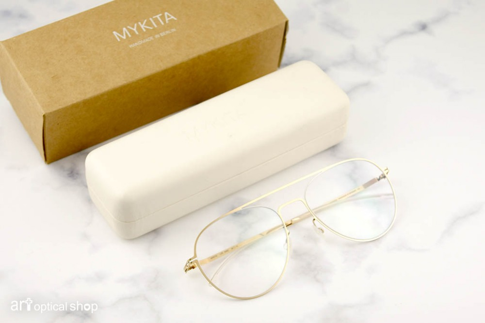 MYKITA - LITE EERO - 香檳金色 細框金邊光學框