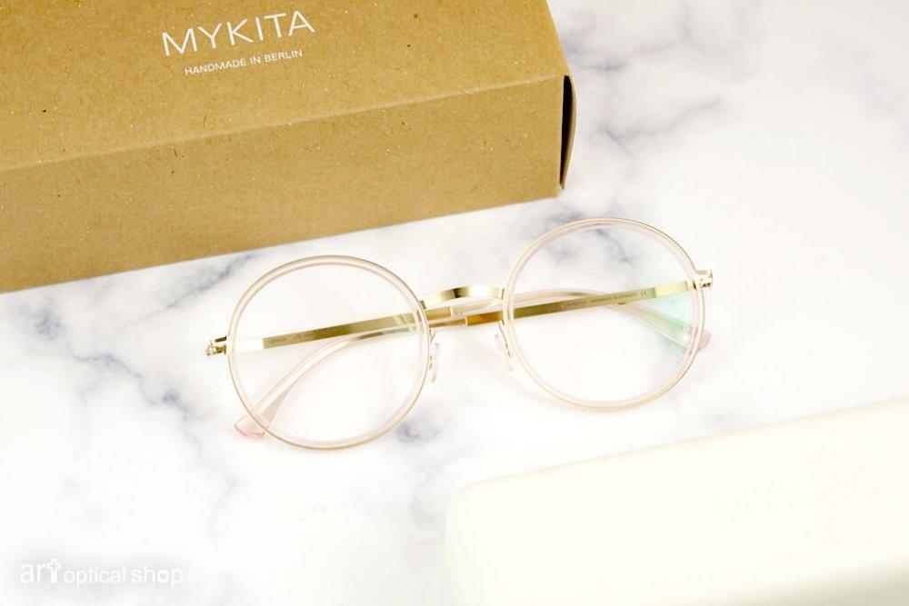 MYKITA - LITE MEJA - 玫瑰粉金圓框眼鏡