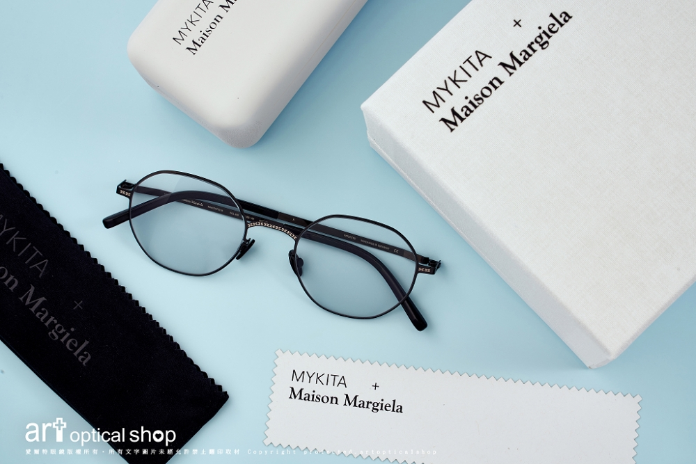 MYKITA + Maison Margiela - CRAFT 超薄鋼鏡框 - MMCRAFT010 col.445
