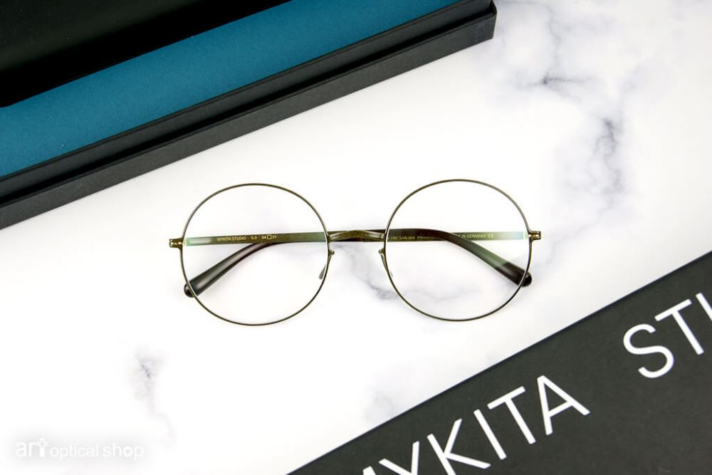 MYKITA - STUDIO 5.3 - POW6 銹塵灰色 圓框眼鏡