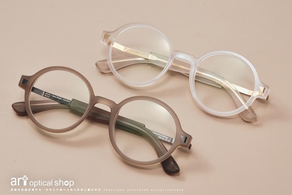 MYKITA + Maison Margiela MMRAW018半透明雕刻感手工複合材質鏡框