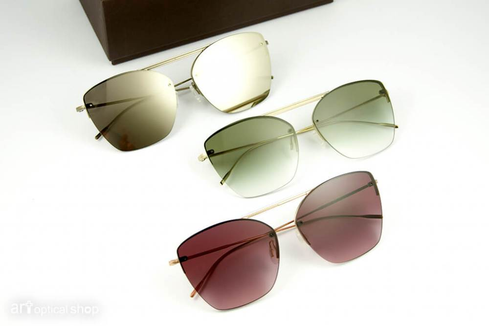 OLIVER PEOPLES - ZIANE - 無鏡框太陽眼鏡 - OV 1217S
