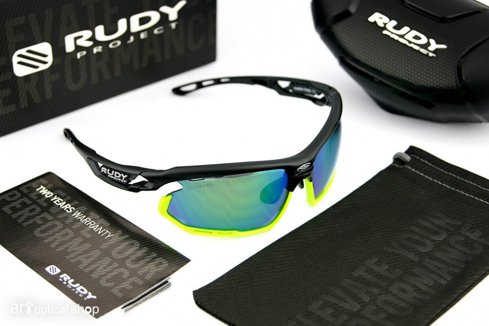 RUDY PROJECT - 單車太陽眼鏡 FOTONYK 綠色Polar3FX HDR鏡片