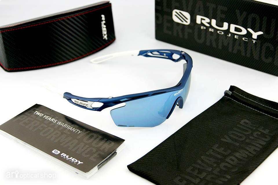 RUDY PROJECT - 單車太陽眼鏡 TRALYX 限定版藍色金屬鏡片