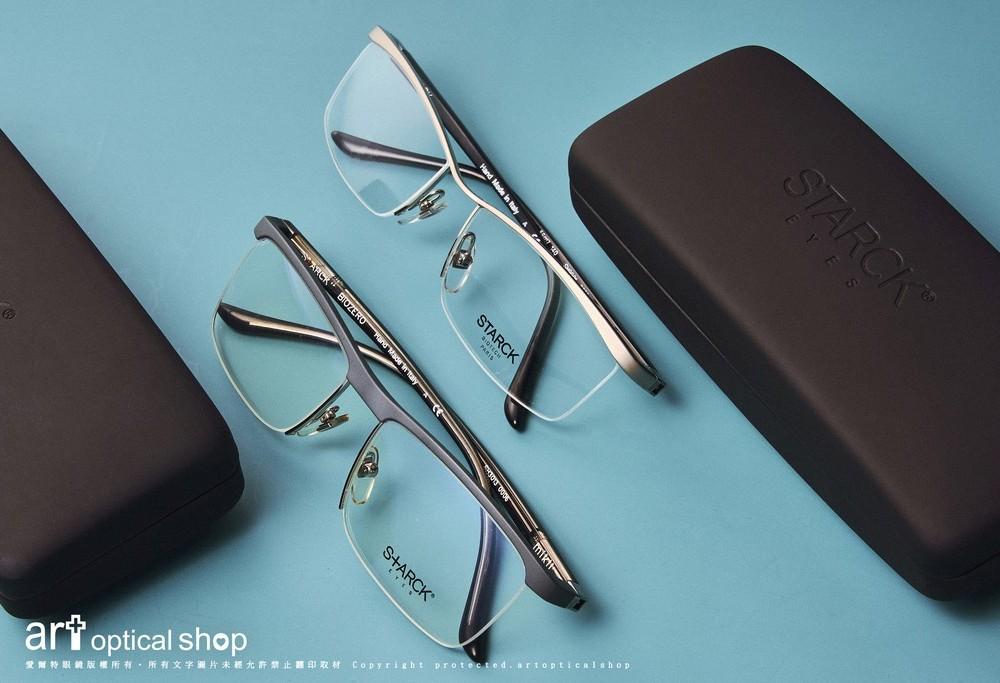 STARCK BIOZERO SH3013 SH9901 方型波浪造型半框眼鏡