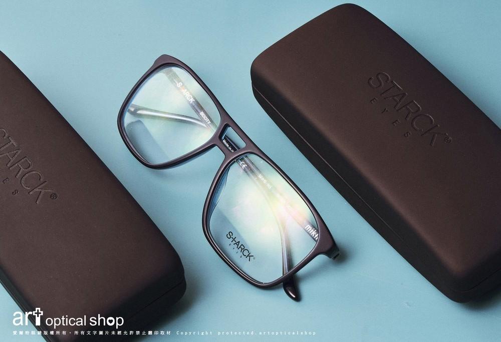 STARCK BIOCITY SH3024極黑板料方框眼鏡