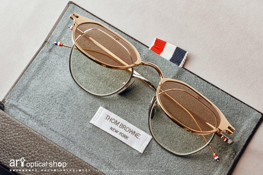 THOM BROWNE - TBS 812 - 前掛式太陽眼鏡 香檳金