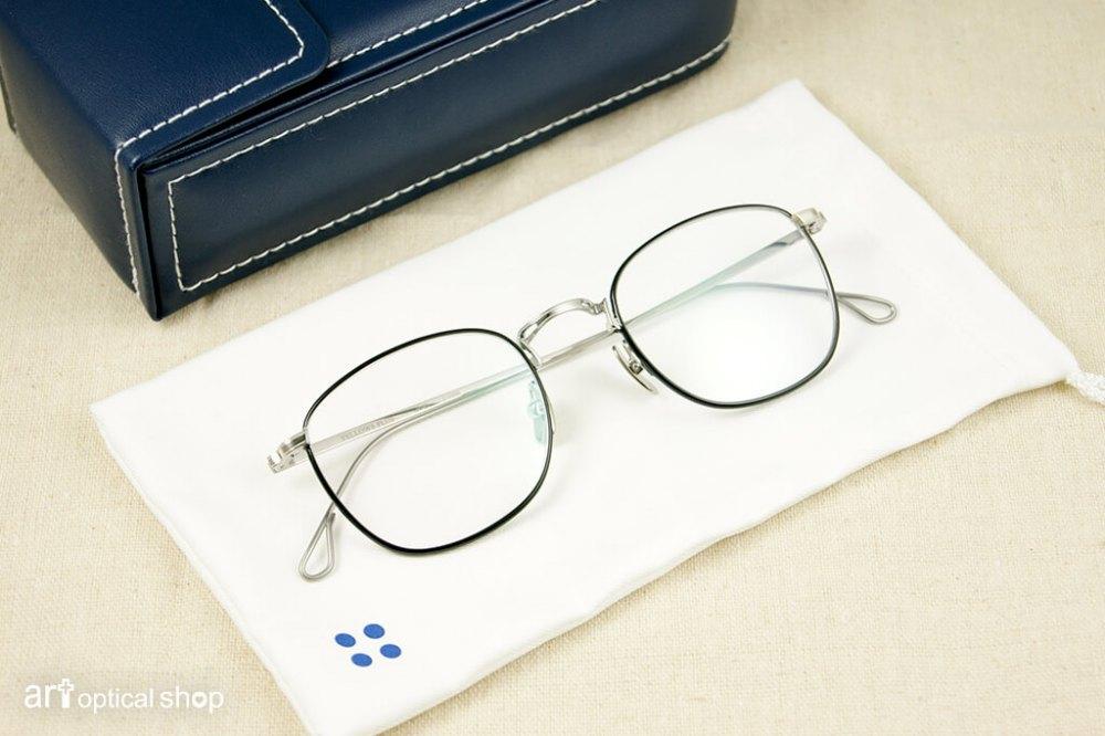 YELLOW PLUS - JOEL - 英倫系金屬細框眼鏡 - COL 1BK - SLIVER