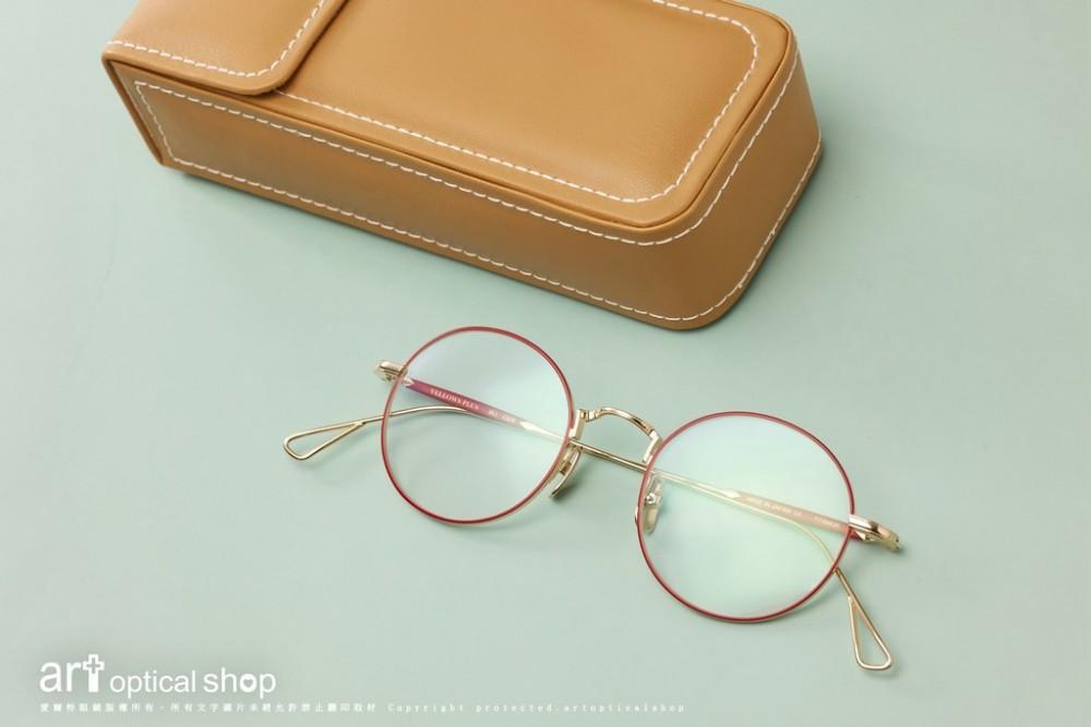 YELLOWS PLUS BILL C6DR 金邊雙色圓框眼鏡
