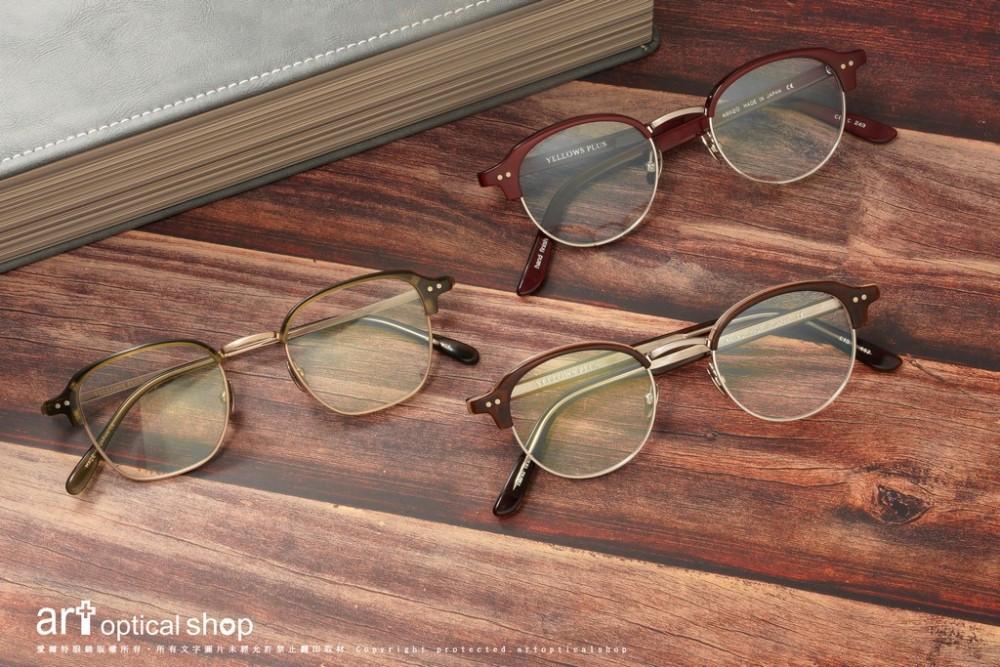 YELLOWS PLUS CIS & ALVIN 文青氣質復古眉框眼鏡