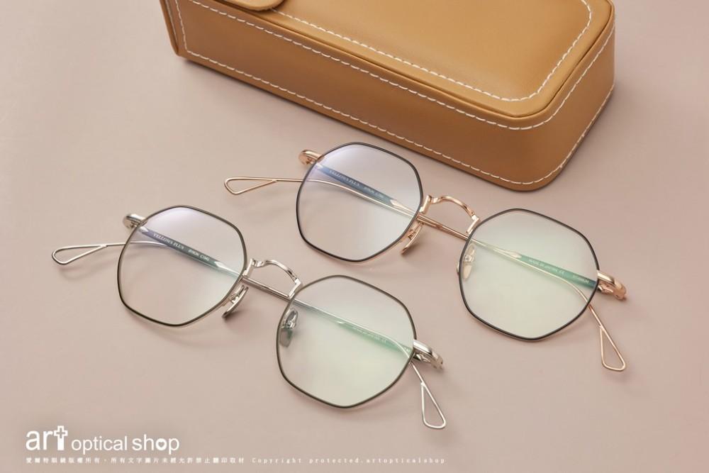 YELLOWSPLUS BYRON 復古八角金絲眼鏡
