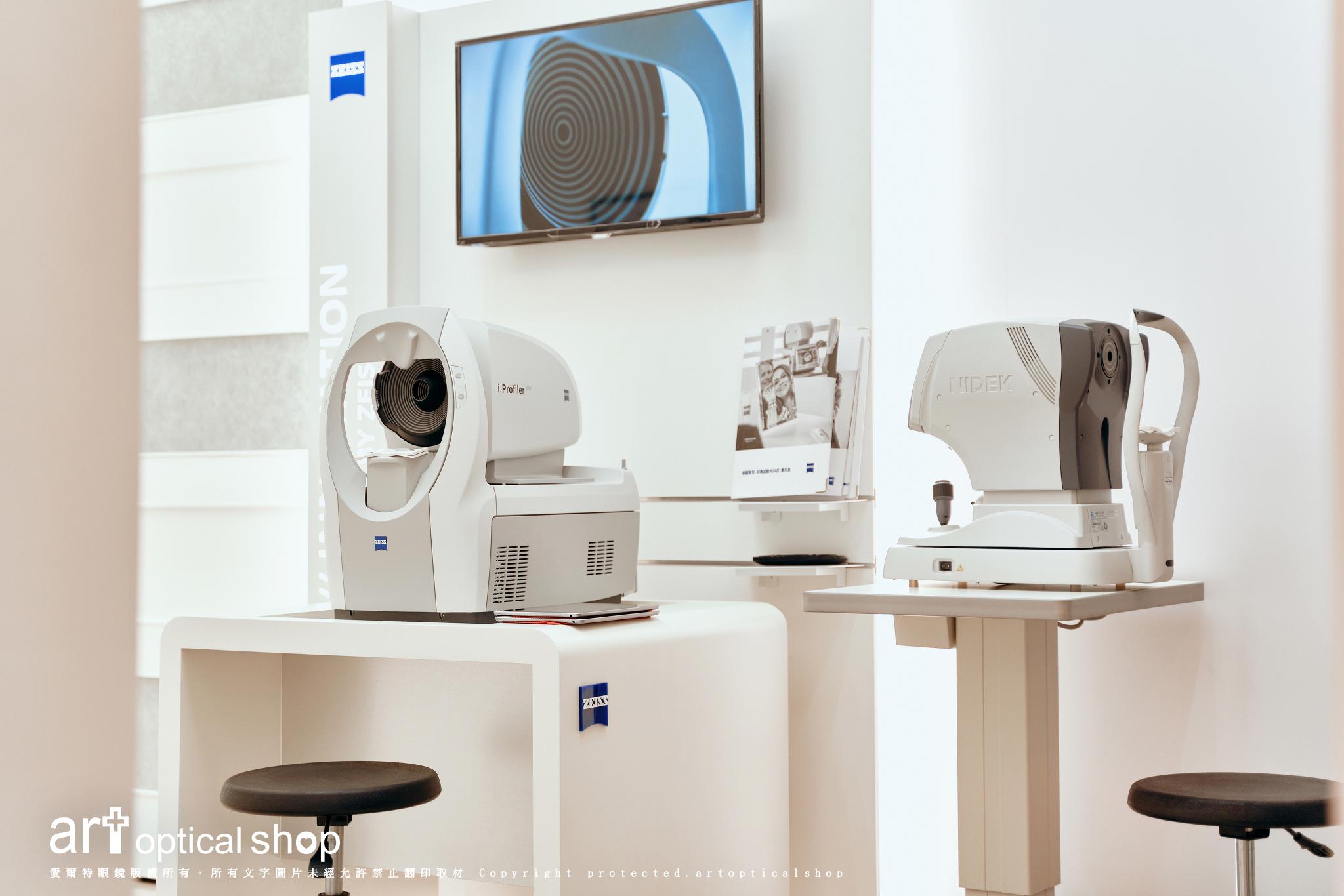 【蔡司 ZEISS X 愛爾特 artopticalshop】i.Profiler® plus 前導波高階像差分析儀